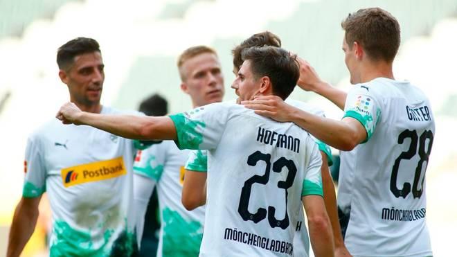 Jonas Hofmann (vorne) erzielte zwei Tore
