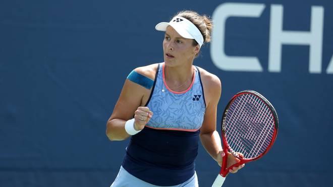 Tatjana Maria hat beim WTA-Turnier in Monterrey das Achtelfinale erreicht