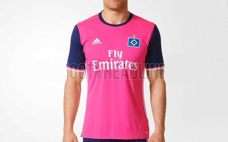 So sieht also das neue Trikot des Hamburger SV aus, mit dem die Hanseaten in der Fremde für Schrecken sorgen wollen. Ob sie damit auch in der Style-Liga punkten können? Sicherlich Geschmackssache