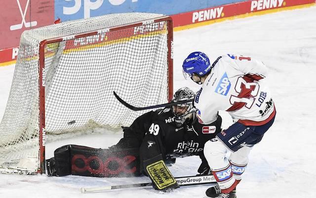 Stefan Loibl traf im Penaltyschießen für Mannheim