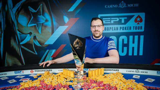 Artur Martirosyan gewann in Sochi das EPT-Main-Event