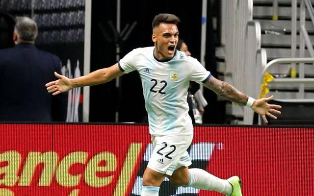 Lautaro Martinez schoss Mexiko fast im Alleingang ab.