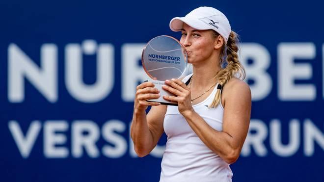 Yulia Putintseva gewann 2019 die letzte Ausgabe des WTA-Turniers in Nürnberg