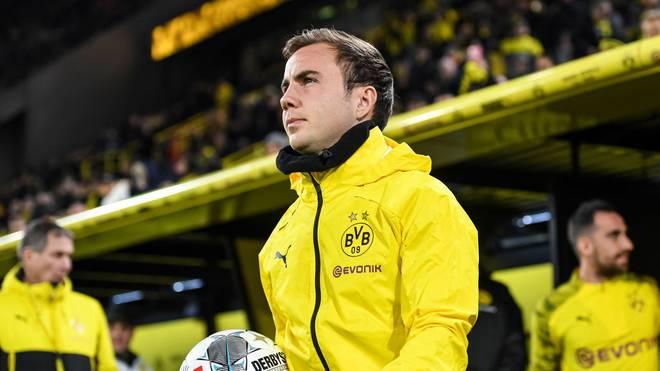 Mario Götze trägt in Zukunft nicht mehr das Trikot von Borussia Dortmund