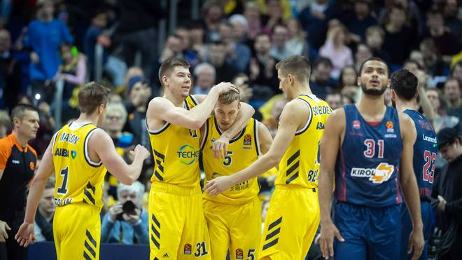ALBA Berlin reist in der EuroLeague auf Zalgiris Kaunas