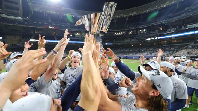 Die Tampa Bay Rays krönten sich im siebten Spiel gegen die Houston Astros zum Champion der American League