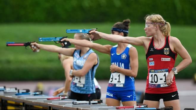 Annika Schleu verpasst Medaille in Budapest