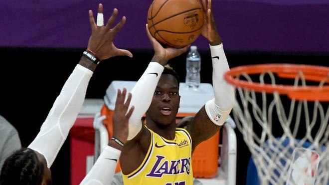 Dennis Schröder kann die Pleite der Los Angeles Lakers nicht verhindern