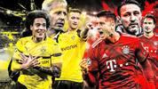 Die Spieler des BVB und des FC Bayern im direkten Vergleich
