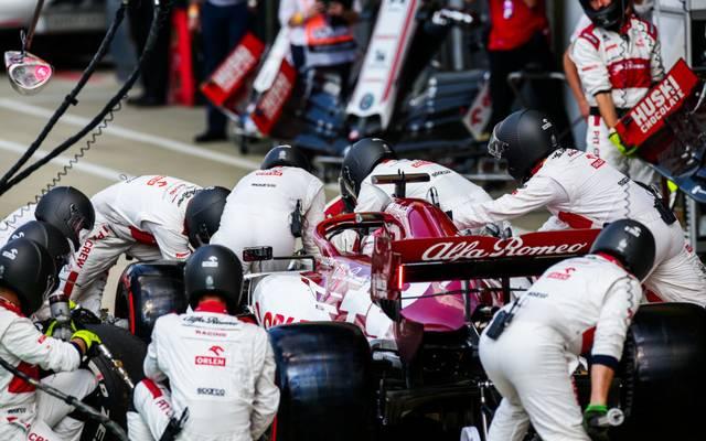 Kimi Räikkönen war mit der Leistung seines Ingenieurs unzufrieden
