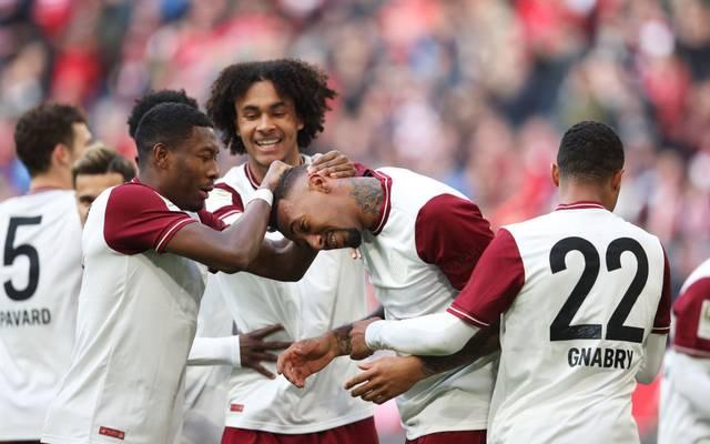 David Alaba feierte Vorbereiter Jérôme Boateng