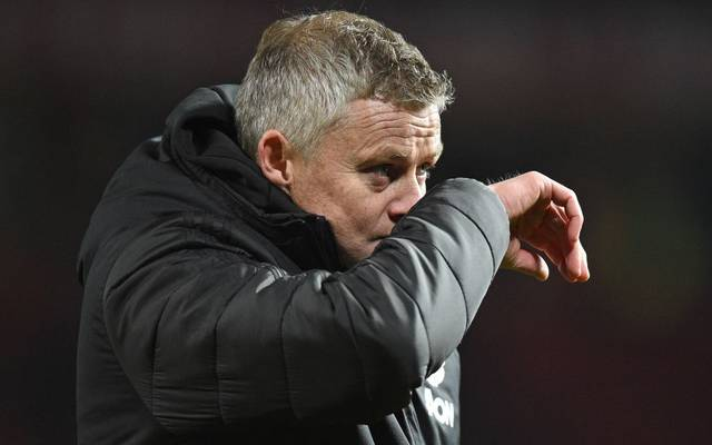 Ole Gunnar Solskjaer steht vor dem Aus bei Manchester United