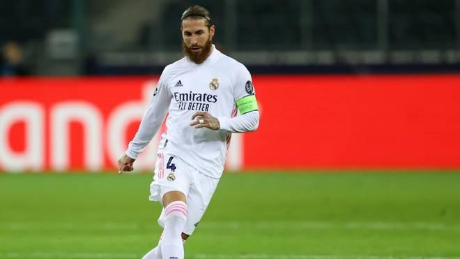 Kapitän Sergio Ramos steht gegen Gladbach wieder im Real-Kader