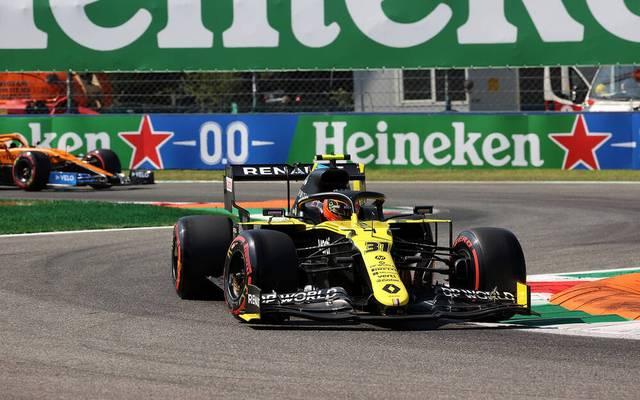 Esteban Ocon fährt für Renault