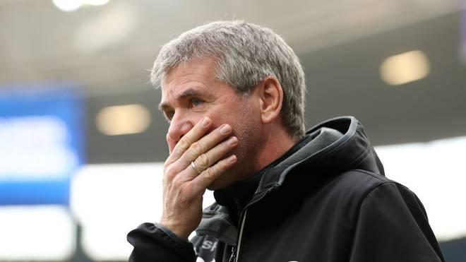 Friedhelm Funkel ist Trainer bei Fortuna Düsseldorf