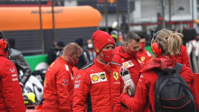 Sebastian Vettel träumte vom WM-Titel mit Ferrari