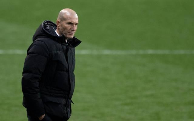 Positiver Coronatest bei Zinédine Zidane