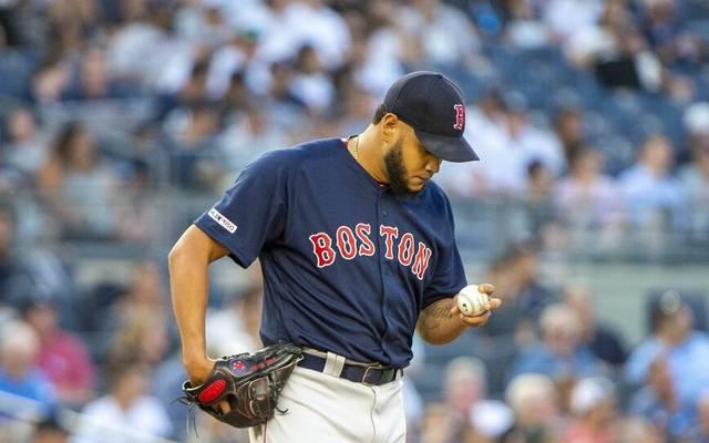 Eduardo Rodríguez von den Boston Red Sox hat Corona schwer erwischt