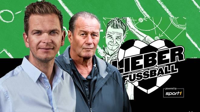 """Tobias Holtkamp hat in der 1. Folge von """"Lieber Fußball"""" Huub Stevens zu Gast"""