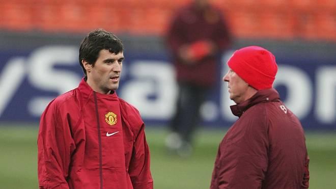 Alex Ferguson und Roy Keane im März 2005