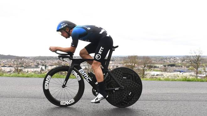 Ryan Gibbons hat den Auftakt der virtuellen Tour de France gewonnen