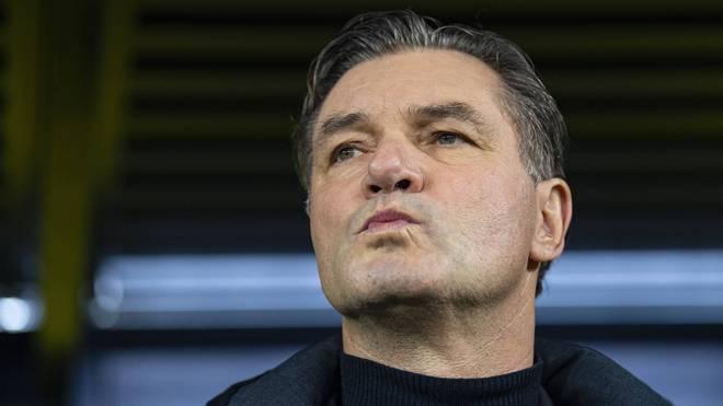 BVB-Sportdirektor Michael Zorc will unbedingt Vizemeister werden