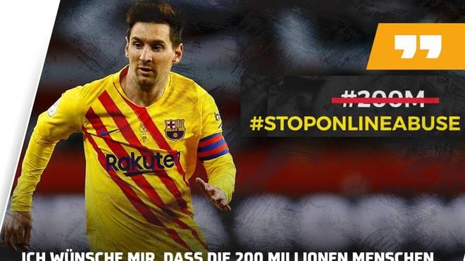 Lionel Messi meldete sich zu Wort