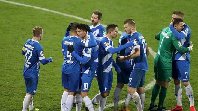 Darmstadt jubelt - nach vier Niederlagen zum Start ins neue Jahr