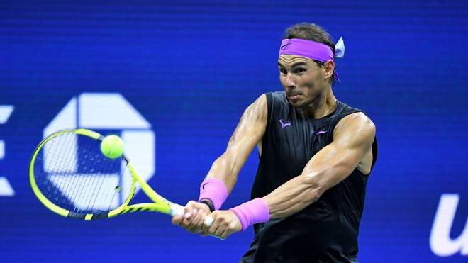Rafael Nadal ist bei den US Open weiter ohne Satzverlust