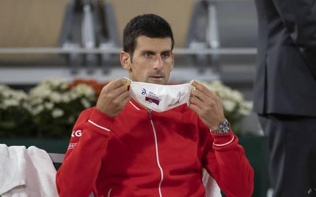 Der Weltranglistenerste Novak Djokovic wird nicht am ATP-Masters in Paris-Bercy teilnehmen