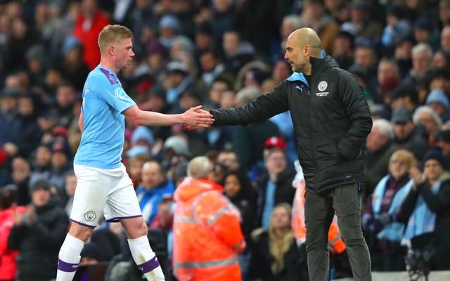 Kevin De Bruyne gewann mit Manchester City gegen West Ham United