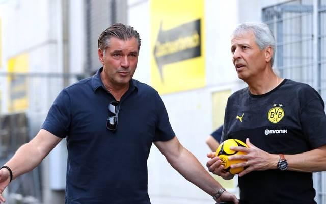Michael Zorc, Lucien Favre und der BVB müsste vorerst wieder komplett ohne Fans auskommen