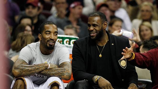 J.R. Smith spielte mit LeBron James bei den Cavaliers zusammen