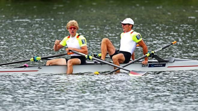 Jonathan Rommelmann und Jason Osborne holten WM-Bronze