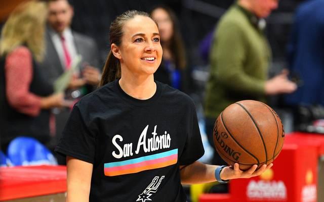 Becky Hammon hat als erste Frau ein NBA-Spiel als Head Coach betreut