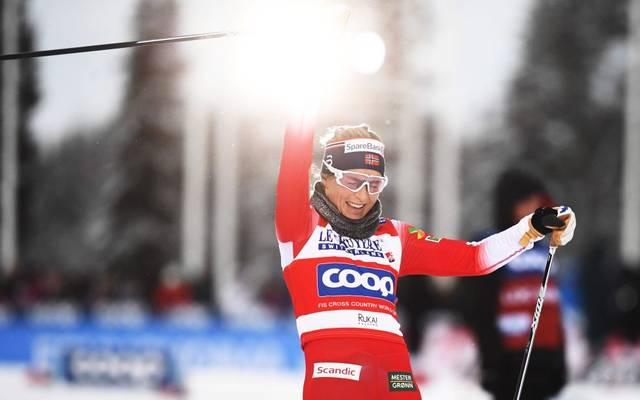 Therese Johaug schnappt sich den Sieg bei der Tour de Ski