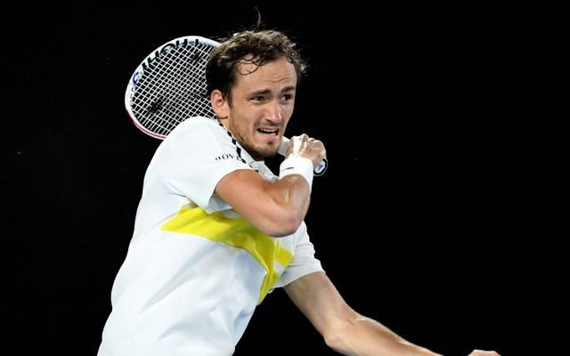 Daniil Medvedev steht im Finale der Australian Open