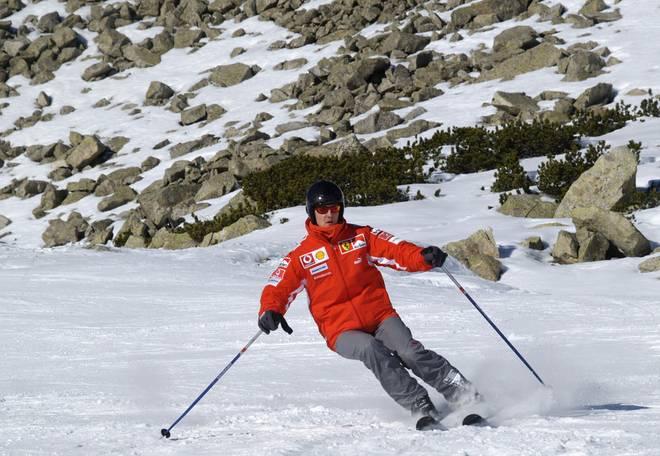 Michael Schumacher stürzte beim Skifahren am 29. Dezember 2013 schwer