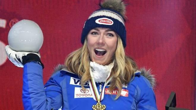 Mikaela Shiffrin hat schon früh mehrere ewige Ski-Rekorde gebrochen