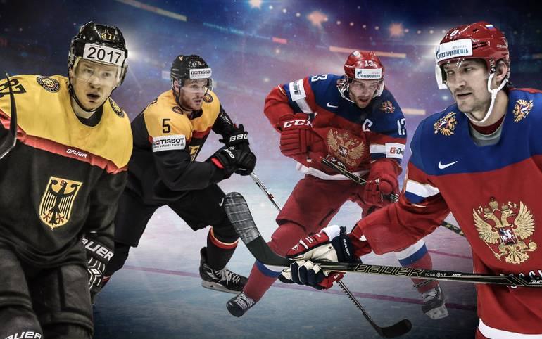 Dem DEB-Team steht ein mächtiger Brocken bevor. Die bisher so starke Mannschaft von Marco Sturm trifft im WM-Viertelfinale in Moskau auf Gastgeber und Titelfavorit Russland (ab 19 Uhr LIVE auf SPORT1). Wie kann die Sensation gelingen? SPORT1 vergleicht die Teams Head-to-Head