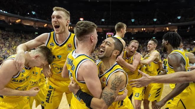 ALBA Berlin beendete mit dem Pokalsieg eine jahrelange Titelflaute