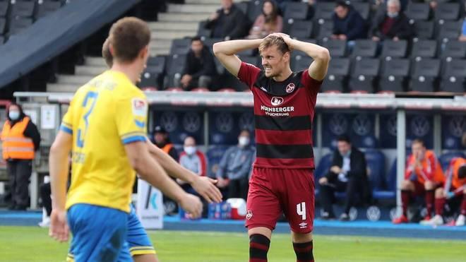 Nürnberg verliert trotz Führung gegen Braunschweig