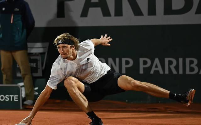 Die Aufgaben werden nicht kleiner: Alexander Zverev steht im Achtelfinale der French Open Jannik Sinner gegenüber