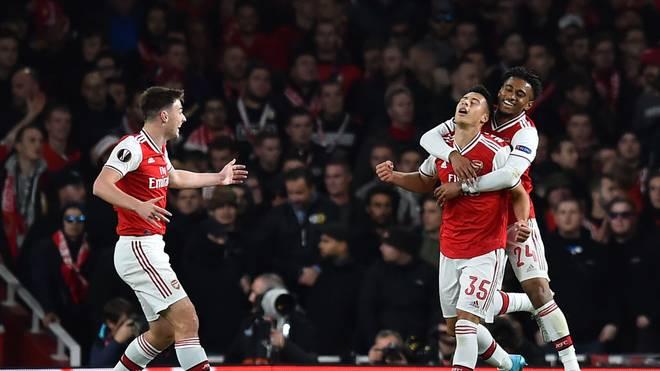 Der 18-Jährige Gabriel Martinelli erwischte einen tollen Abend und führte Arsenals B-Elf zum Sieg