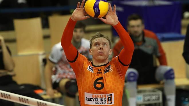 Sergey Grankin bleibt weiterhin bei den Berlin Recycling Volleys