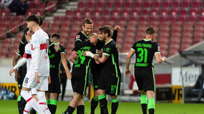 Der VfL Wolfsburg festigt den dritten Tabellenplatz in der Bundesliga