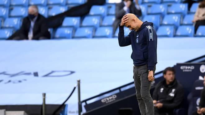 Pep Guardiola durchlebt bei Manchester City mal wieder turbulente Tage
