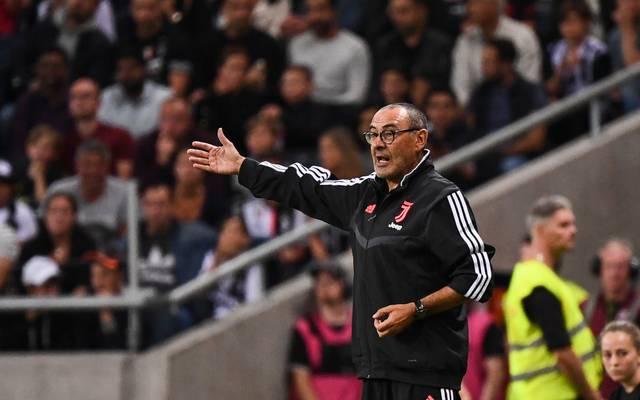 Maurizio Sarri ist der neue Trainer von Juventus Turin