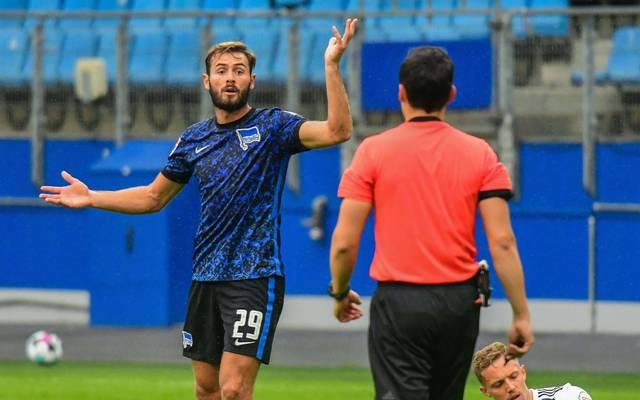 Lucas Tousart steht in der Startelf von Hertha BSC