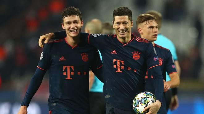 Die Bayern fegten Roter Stern Belgrad mit 6:0 vom Platz